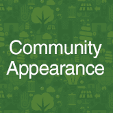 Community appearance initiatives